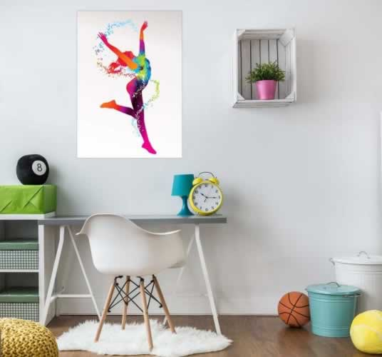 Plakat do pokoju dziewczyny z tancerką