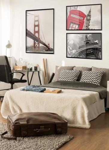 Plakat z mostem Golden Gate