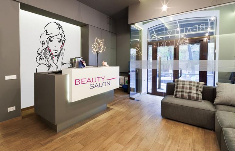 Fototapeta z wizerunkiem kobiety do salonu kosmetycznego