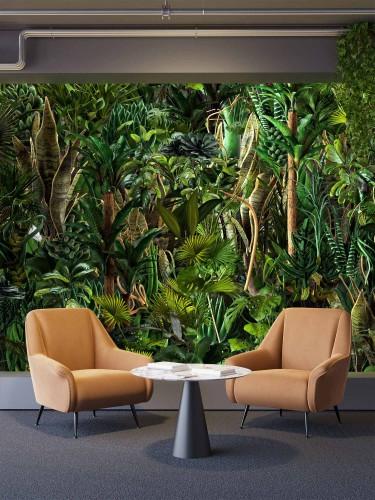Fototapeta botaniczna do biura