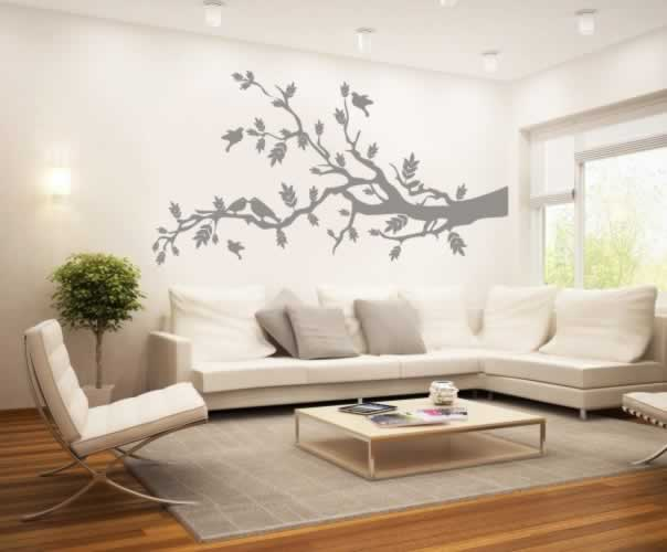 Naklejka na ścianę z motywem gałęzi drzewa