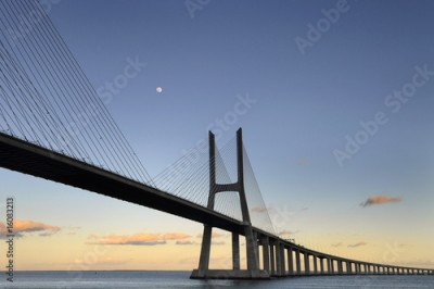 Obraz na Plexi Vasco da Gama Bridge