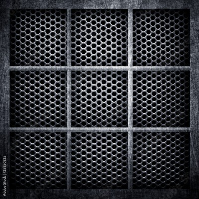 Fototapeta metal lattice background