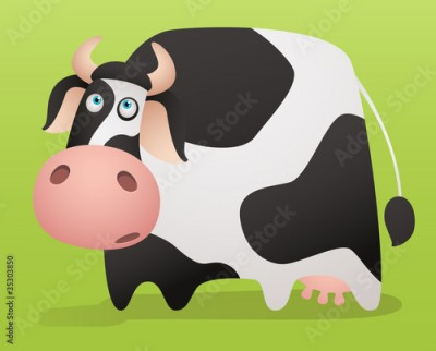 Obraz Cartoon Cow