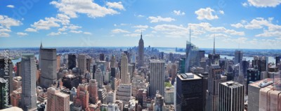 Fototapeta New York City Manhattan panorama