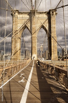 Fototapeta Manhattan Bridge