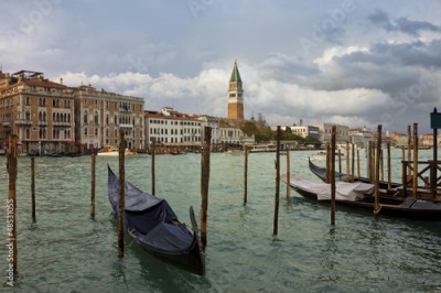 Obraz Grand Canal in Venice after storm