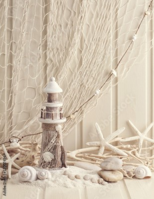Fototapeta Marine life decoration