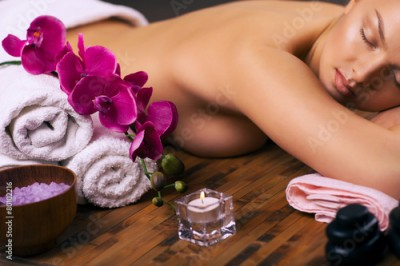 Obraz relaxing spa treatments