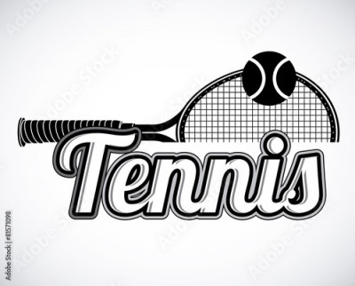 Obraz Tennis design