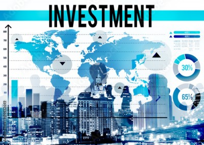 Fototapeta Investment Financial Banking Economy Income Concept