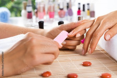 Obraz Manicure procedure