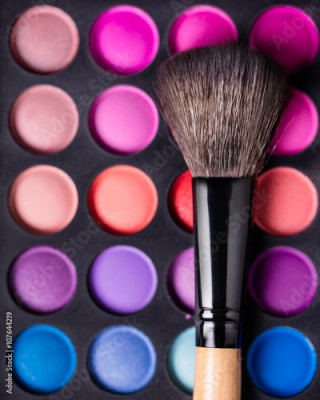 Obraz Eyeshadow Palette and brush