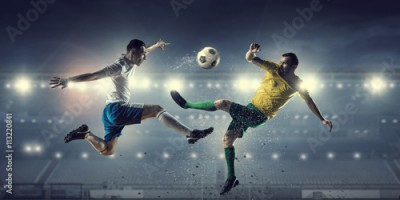Fototapeta Hot football moments