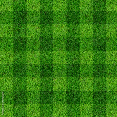 Fototapeta soccer football on grass field