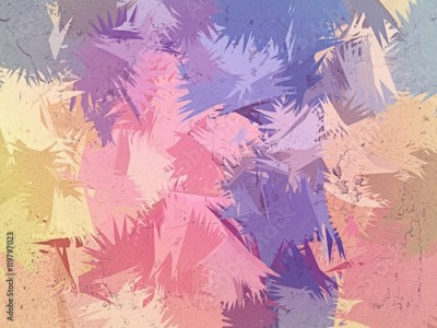 Fototapeta Variety pastel color brush abstract background