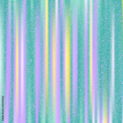 Obraz na płótnie Turquoise background with purple and yellow stripes. Abstract colorful vector background