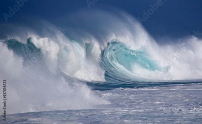 Fototapeta North Shore Winter Waves