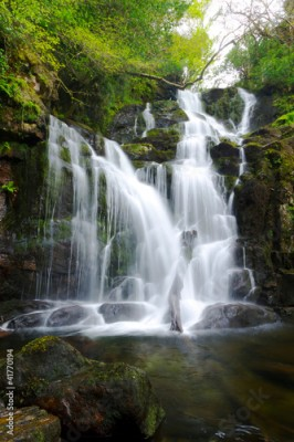 Fototapeta Torc waterfall in Killarney National Park, Ireland