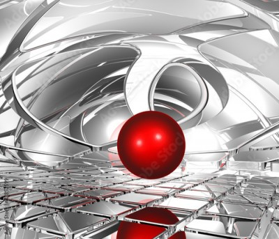 Obraz na Plexi sphere in abstract space