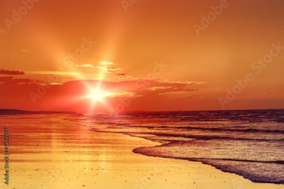 Obraz beach sunset