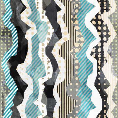 Obraz na Plexi fabric seamless pattern