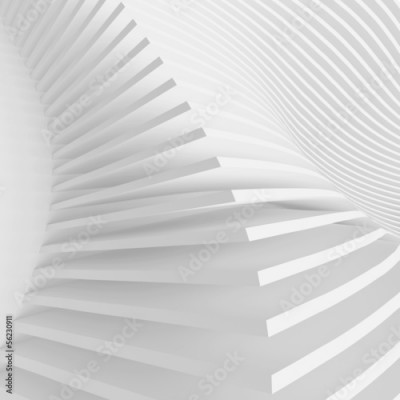 Fototapeta White Architecture Background