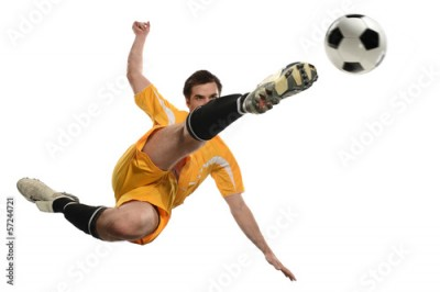 Fototapeta Soccer Player in Action