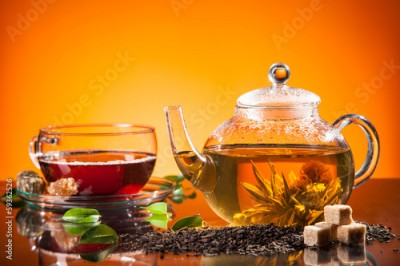 Obraz Blooming tea