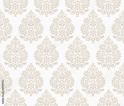 Obraz Traditional floral background