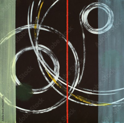 Obraz na Plexi an abstract painting