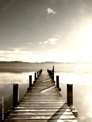 Fototapeta wooden jetty (78)