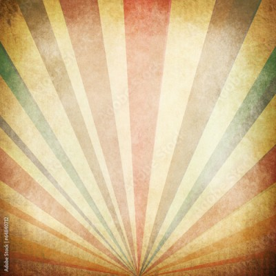 Fototapeta Vintage Sunbeams Background