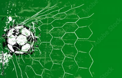 Fototapeta Soccer / Football design template, free copy space, vector