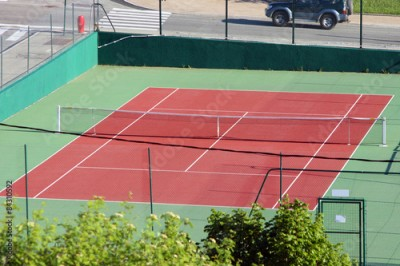 Obraz Tennis court