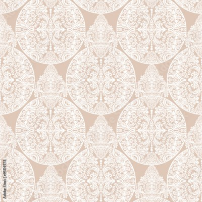Fototapeta Wallpaper seamless ornate pattern.