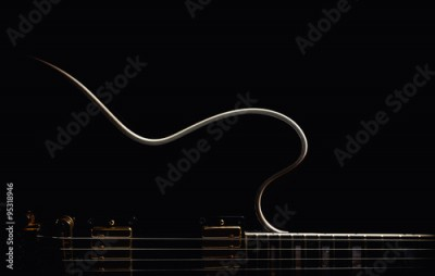 Plakat Electric Guitar Abstract