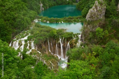 Plakat  Plitvice Lakes National Park