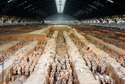 Obraz The famous Terracotta Army, the Qin Shi Huang Mausoleum