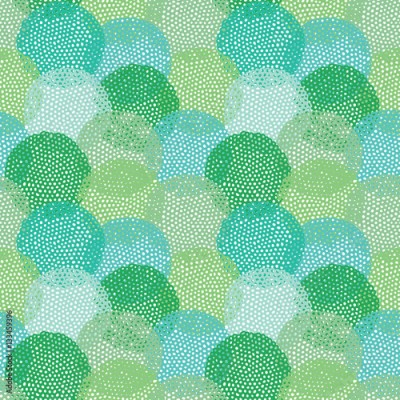 Fototapeta Colorful abstract vector seamless pattern
